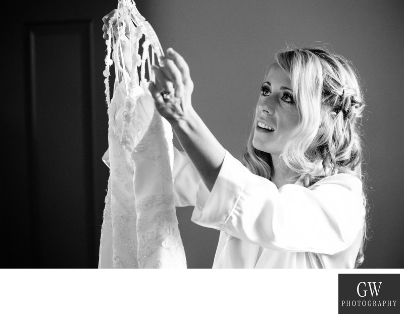 canmore wedding getting ready bride photos photography