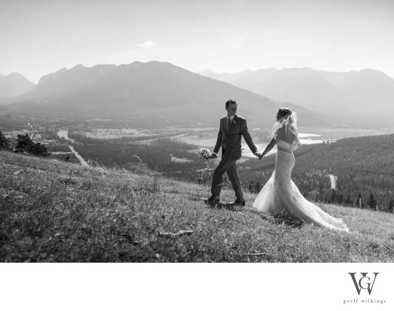 Banff National Park Wedding Photos By GW Photography