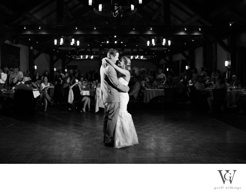 SilverTip Golf Course Resort Reception First Dance