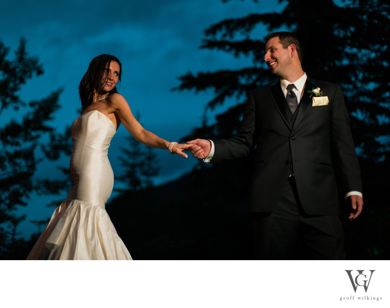 RimRock Hotel Wedding Photos Banff National Park