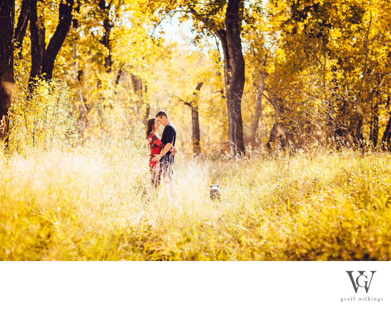 Engagement Shoot Fall Photography Calgary Photographers