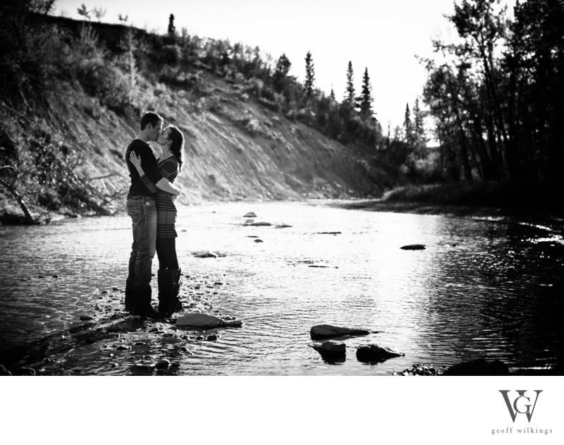 Engagement Photographs River Photos
