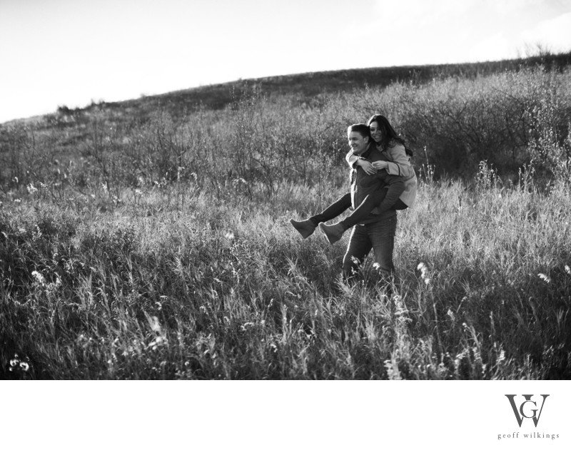 Calgary Engagement Shoot Fun Organic Natural Photos
