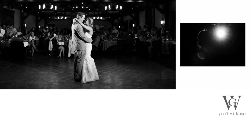 SilverTip Resort Golf Course Wedding First Dance Photos