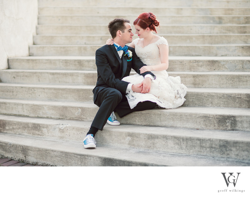 Steps Located Inside Spruce Meadows Wedding Photos