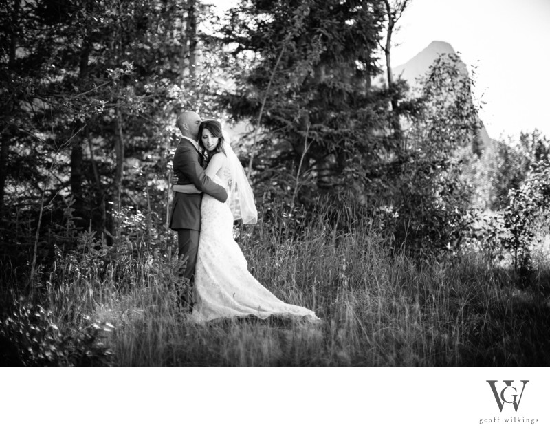 Canadian Rockies Wedding Photos Meadows Canmore