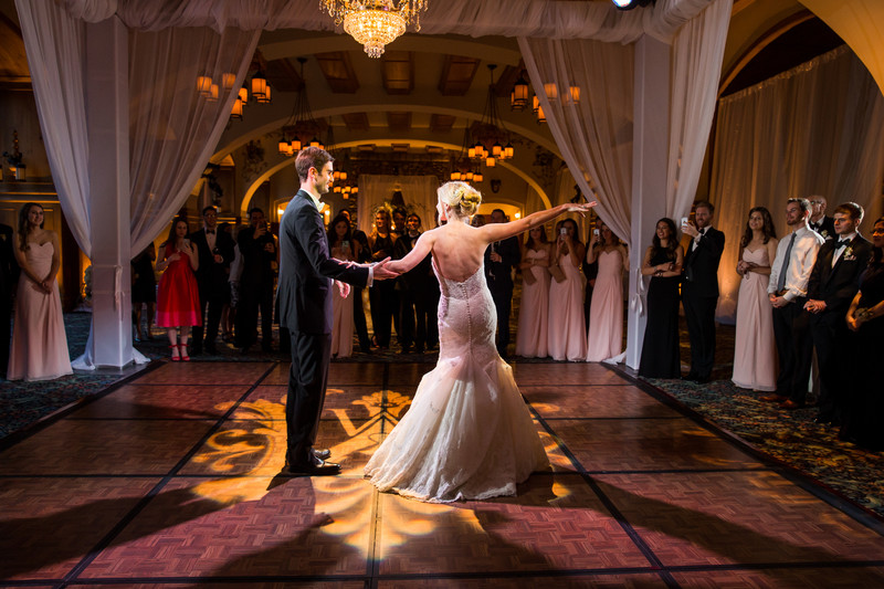 First Dance Bride Groom Chateau Lake Louise Photos