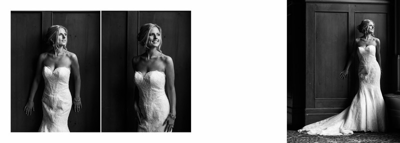 Portrait Photos of Bride Chateau Lake Louise Hotel
