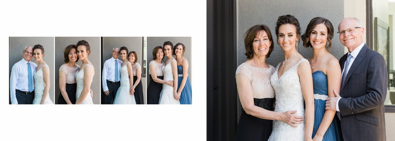 Parent Photos With Bride & Family Members