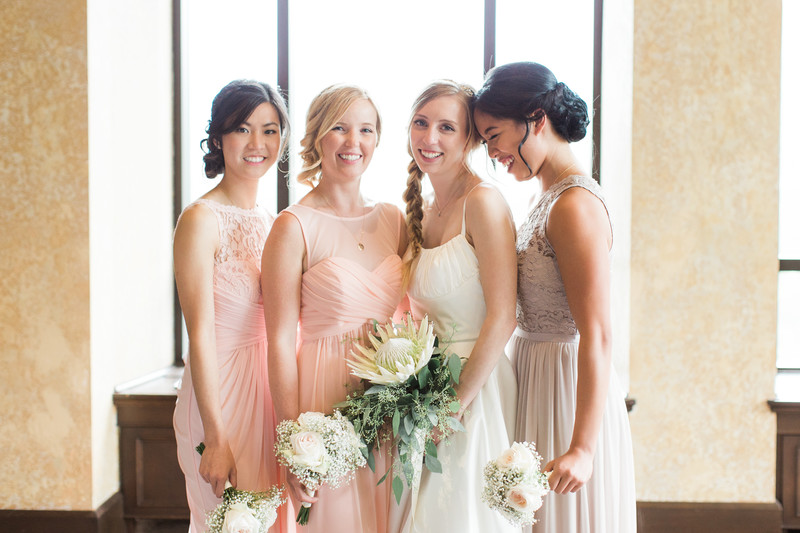 Banff Springs Hotel Wedding Photos Bridal Party Photo