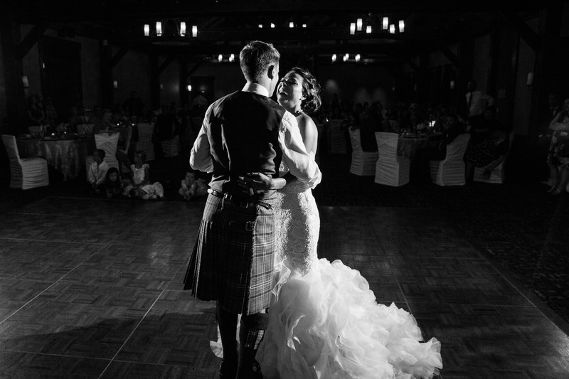 First Dance Photos Reception Silvertip Wedding Photos