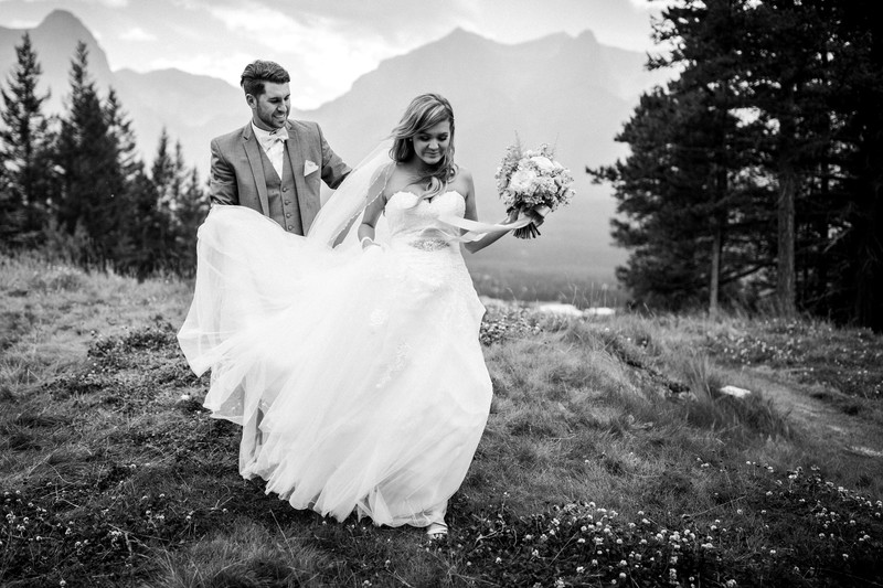 Banff Canmore Wedding Photographers Silvertip Photos