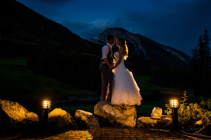 Canmore Silvertip Reception Wedding Photos Photography