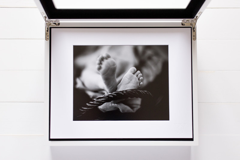 Portrait Box With 11x14 Matted Photography Photos