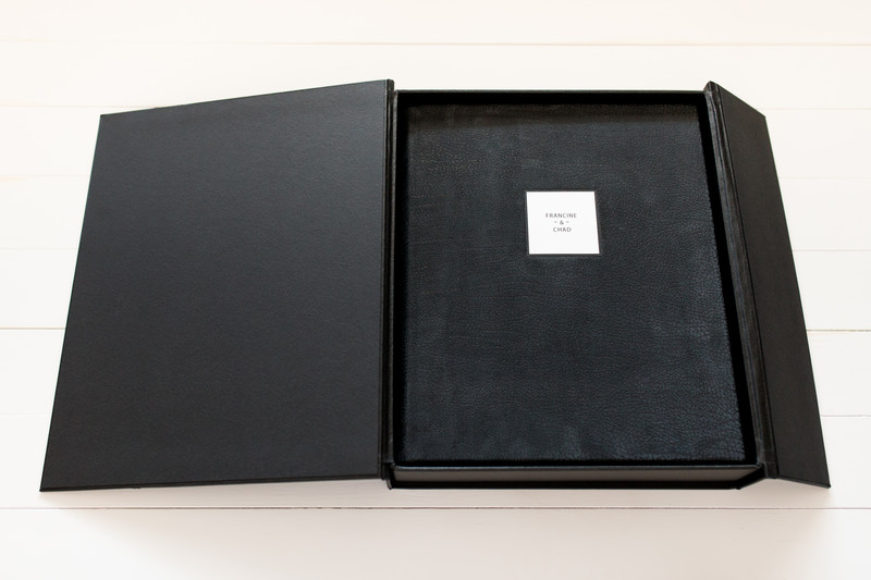Queensberry Album Contemporary Leather & Display Box