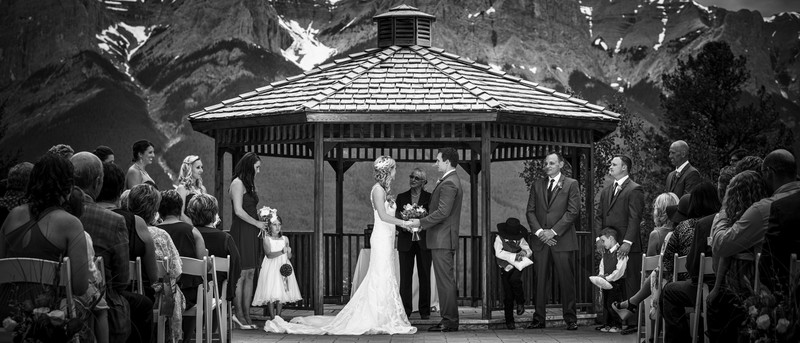 Canmore Wedding Photographers Silvertip Resort Ceremony