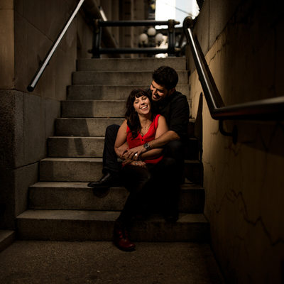 Engagement Photography Shoot Calgary Fairmont Hotel
