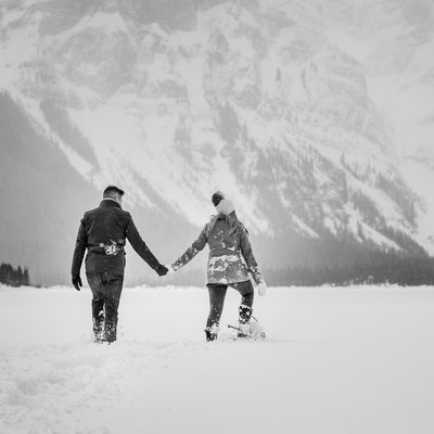 Walking In The Canadian Rockies Hand In Hand Photos