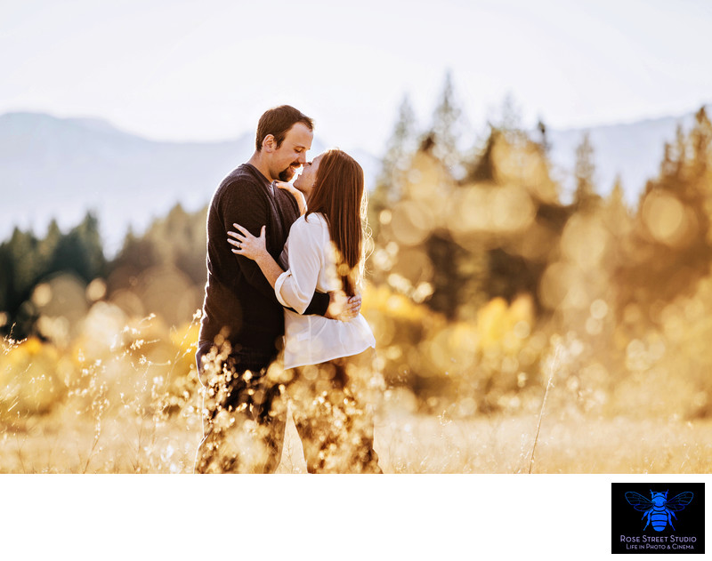 Lake Tahoe Outdoor Engagement Session