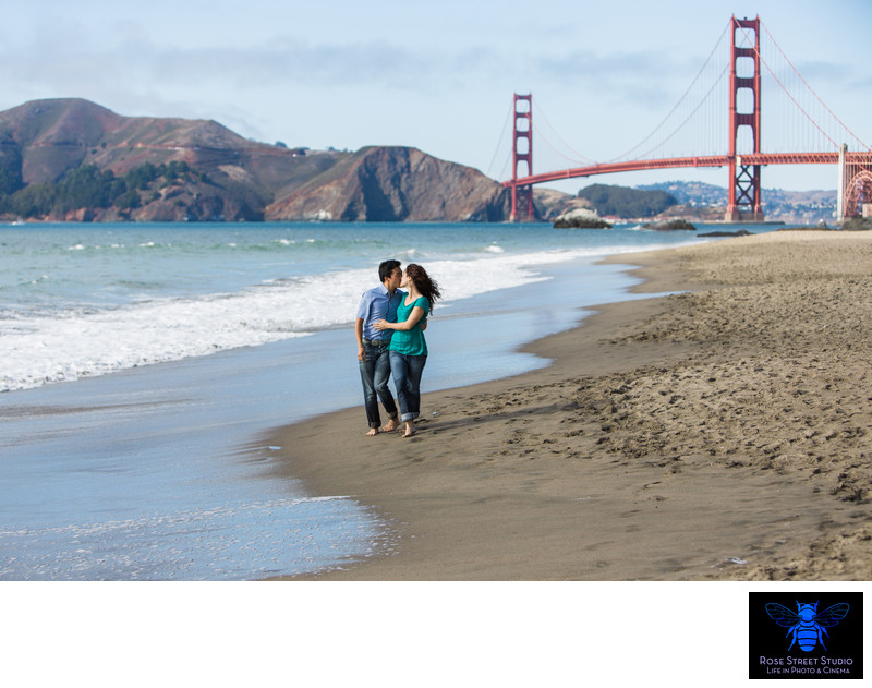 Ana and Brian's Engagement Session San Francisco, CA