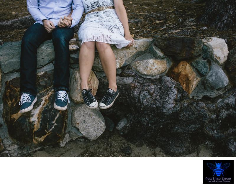 Fun Engagement Photographer in South Lake Tahoe