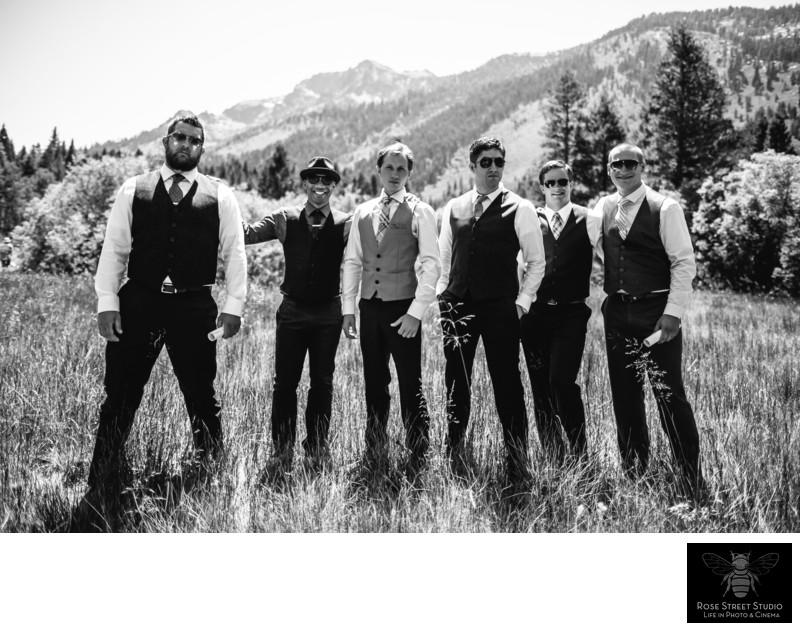 Fun Wedding Photographers in Lake Tahoe