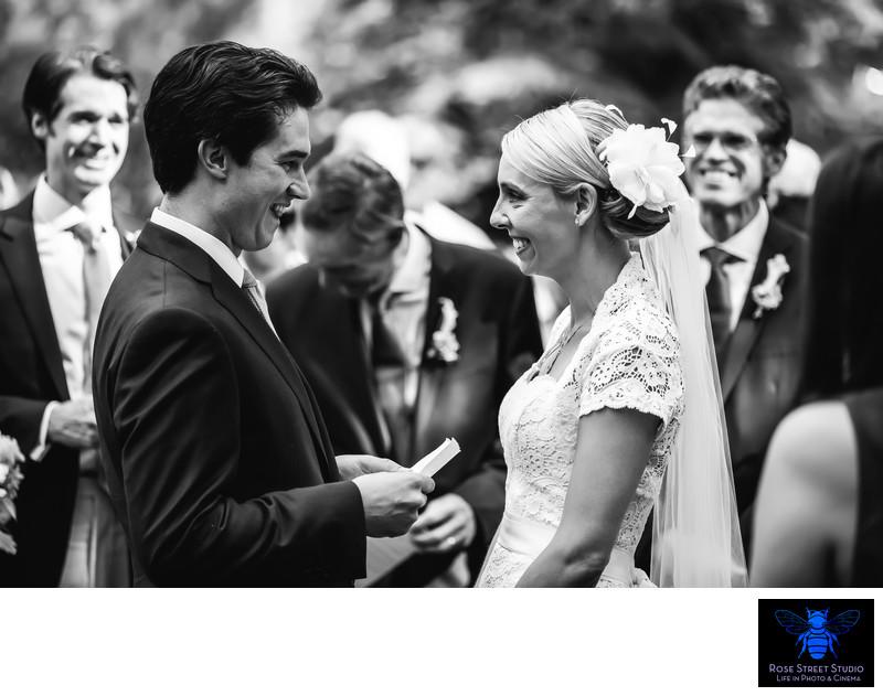 Wedding Ceremony Tahoe Tree Farm
