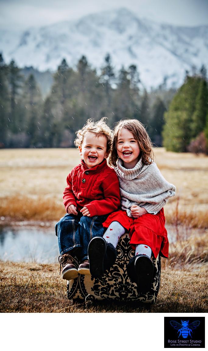 Best children's photographer lake tahoe