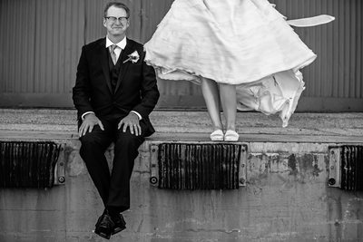 Bridal Session at Industrial Park in Long Beach, CA