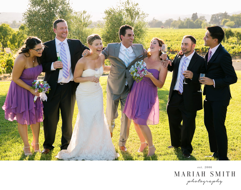 Wedding photographers at Styker Winery