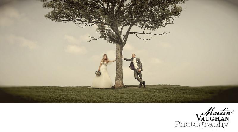 Wedding Photography Colwyn Bay on the promenade