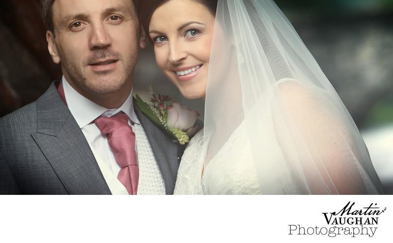 Beautiful wedding couple photography Plas Maenan Conwy