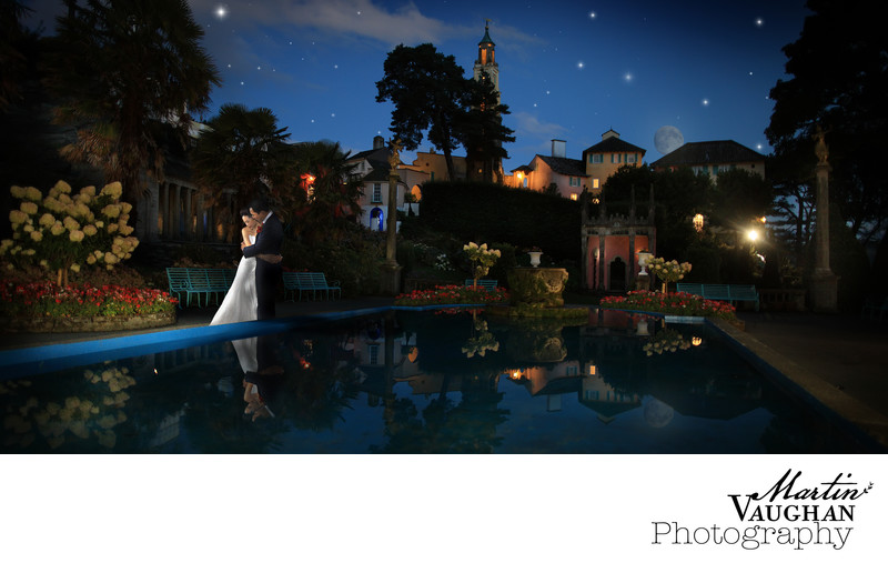 Top Portmeirion wedding photography North Wales