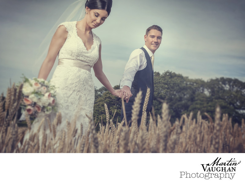 Wedding photography from Bodnant Welsh Food