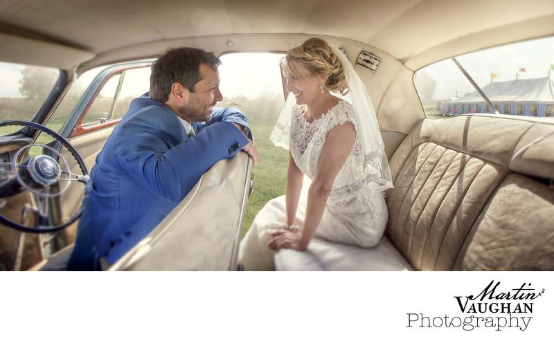 Romantic evocative wedding photography Caernarfon