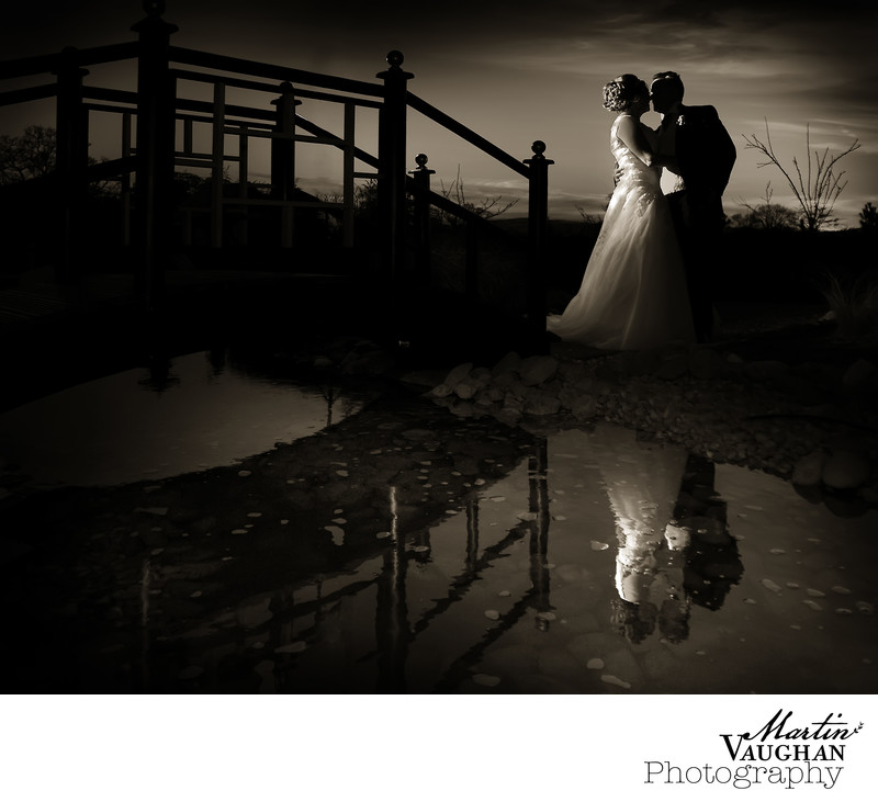 Wedding photographer at Grosvenor Pulford Cheshire