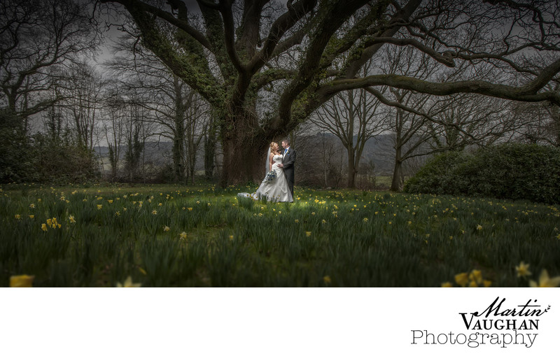 Top wedding photographer Caer Rhun Hall Conwy Spring