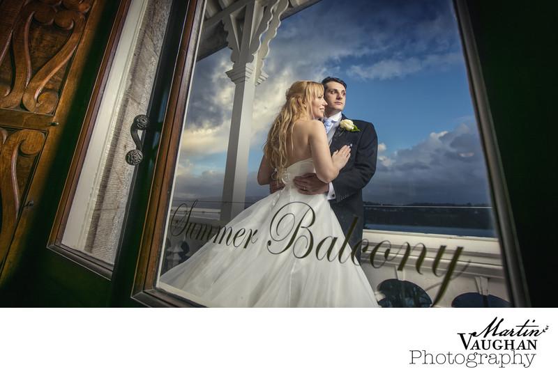 Chateau Rhianfa wedding photographs by Martin vaughan