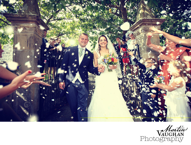 Top wedding photographer North Wales and Cheshire