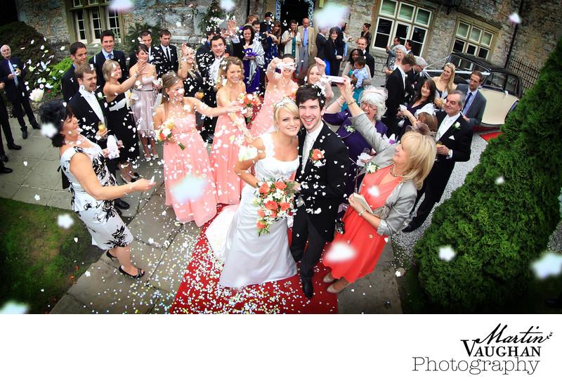 Faenol Fawr wedding photography North Wales