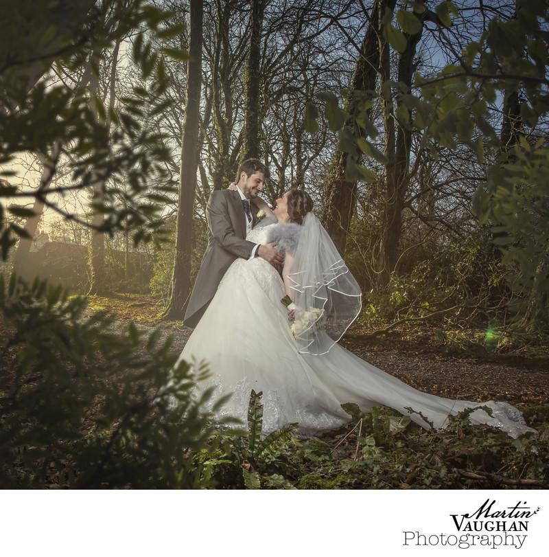 Best Tre Ysgawen wedding photographer Martin Vaughan