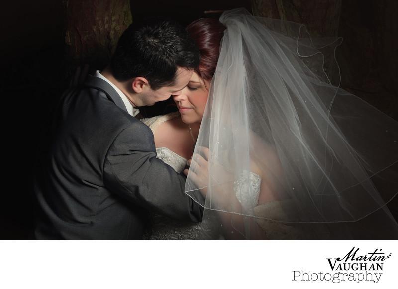 Romantic wedding photography Llandudno North wales