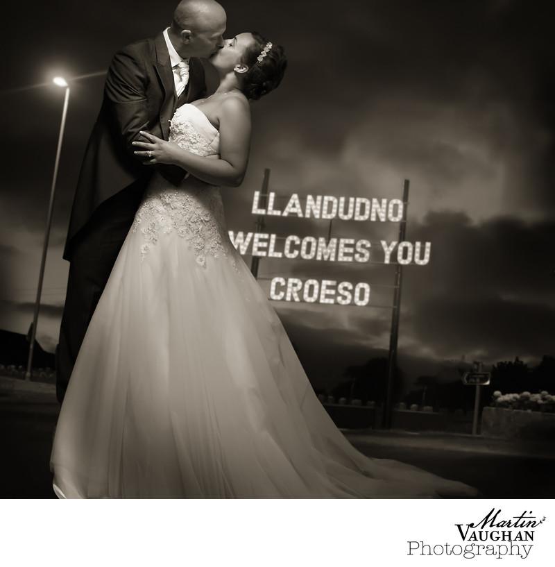 Llandudno wedding photos St Georges Hotel