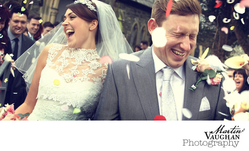 Best church wedding photography Portmeirion North Wales
