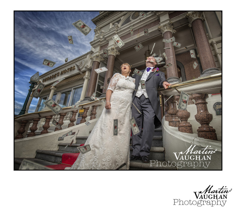 St Georges Hotel Llandudno wedding of Ian and Jackie by Martin Vaughan Photography