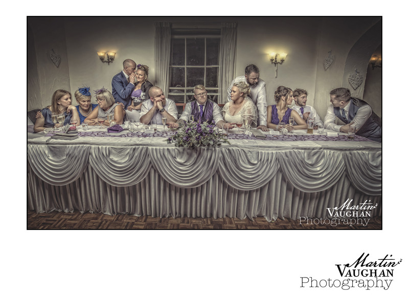 Soprano wedding breakfast by Martin Vaughan Photography