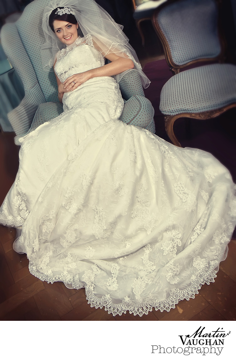 Portmeirion bride wedding photography North Wales