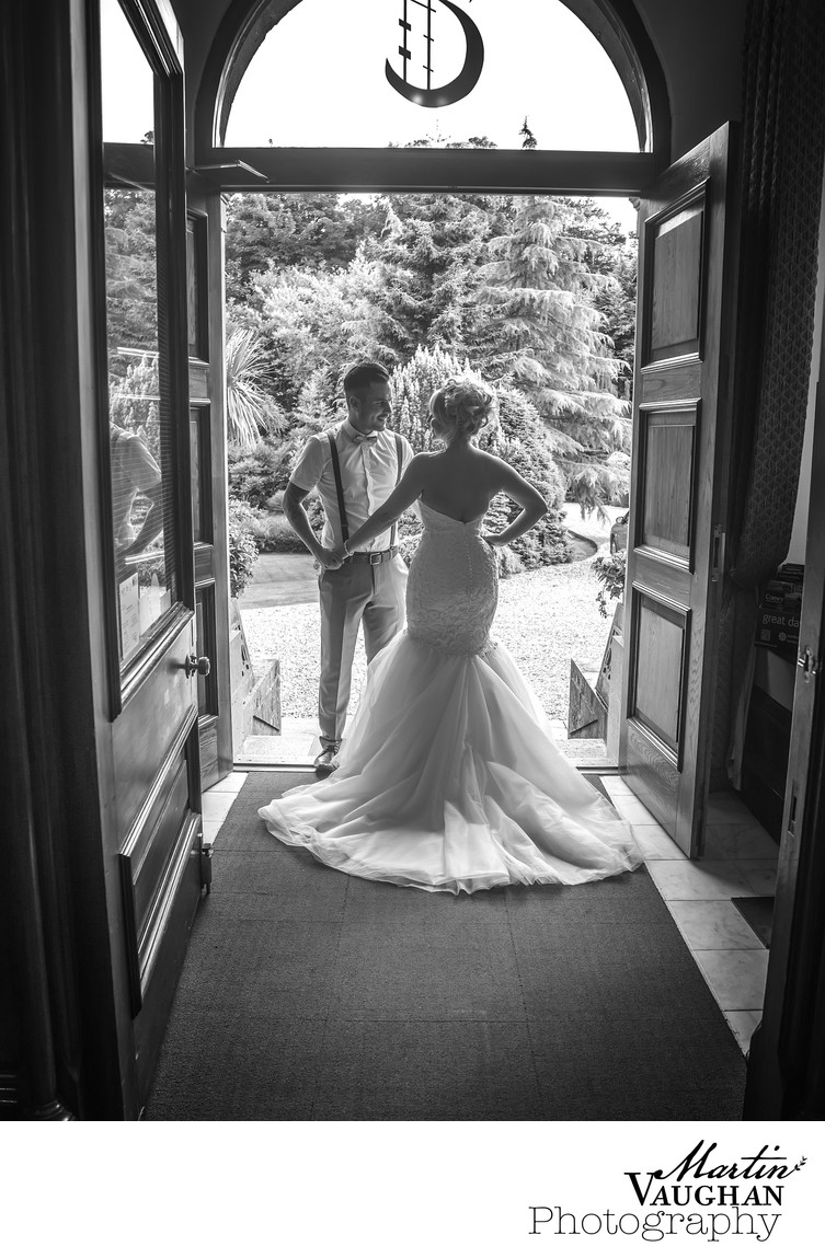 Best wedding photographer Anglesey Tre Ysgawen Hall