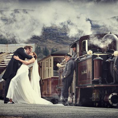 Blaenau Ffestiniog Railway Portmeirion photographs
