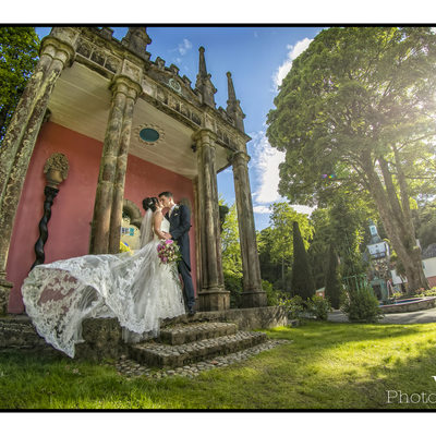 Portmeirion wedding North Wales Wedding photography